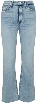 Rag & Bone Nina High-Rise Flared Jeans