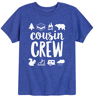 Icons Instant Message Tee Shirts ROYAL - Royal Blue 'Cousin Crew' Camp Tee - Toddler & Kids