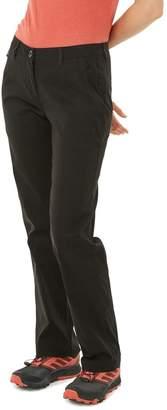 Craghoppers Womens Female Kiwi Pro Trousers - Black