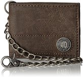 Dickies Men's Bifold Wallet with Chain