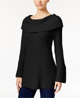 Style&Co. Style & Co. Off-The-Shoulder Cable-Knit Sweater, Only at Macy's