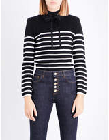 Claudie Pierlot Striped wool jumper