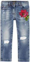 Dolce & Gabbana Girl regular fit jeans
