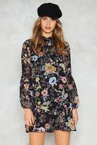 Nasty Gal Only If For a Night Floral Dress