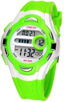 Dreamy Dreams Green Kids Boys Digital 50M Water Resident Watches