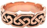 I Love Copper Rings - Size 7 Solid Copper Celtic Knot Band Ring Size 7 - CTR380 - 1/4 of an Inch Wide.