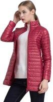 Northar Women's Casual Lightweight Long Down Puffer Jacket
