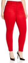 NYDJ Plus Alina Legging Jeans in Cardinal Red