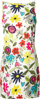 Trina Turk floral print shift dress - women - Cotton/Modal/Spandex/Elastane/Polyester - 6