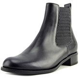 VC Signature Natty Round Toe Leather Bootie.