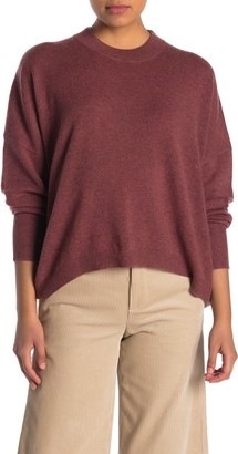 360 Cashmere Makayla High/Low Cashmere Sweater