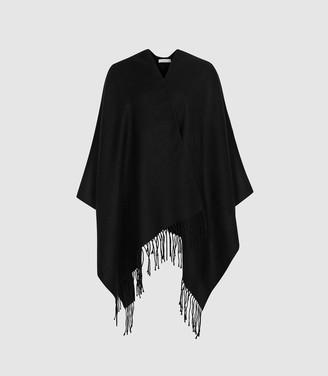 Reiss Gia - Poncho in Black
