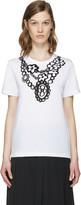 Comme des Garcons Black Flower Necklace T-Shirt