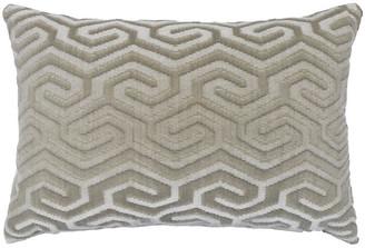 The Piper Collection Ethan 16x24 Lumbar Pillow - Oyster Velvet