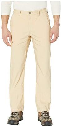 Mountain Khakis Stretch Poplin Pants Slim Fit (Khaki) Men's Casual Pants