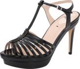 Fendi Favorite T-Strap Sandal Heel