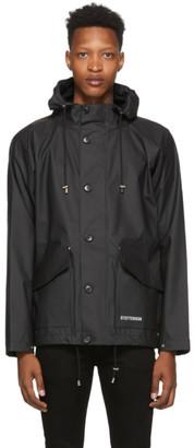Stutterheim Black Stenhamra Jacket