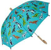 Hatley Umbrellas - Hatley Roaring T-rex Umbrella - Blue