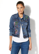 New York & Co. Soho Jeans - Painted Denim Jacket