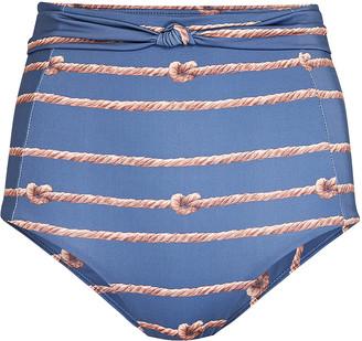 VERDELIMON Liguria High-Waist Bikini Bottoms