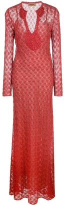 Missoni Long Lace Dress
