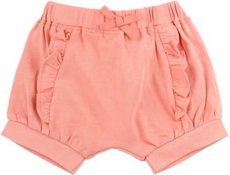 Oliver & Rain Sea Star Coral Ruffle Shorts