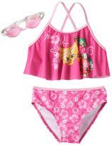 Girls 4-6x Shopkins Buncho Bananas & Strawberry Kiss 2-pc. Bikini Swimsuit Set