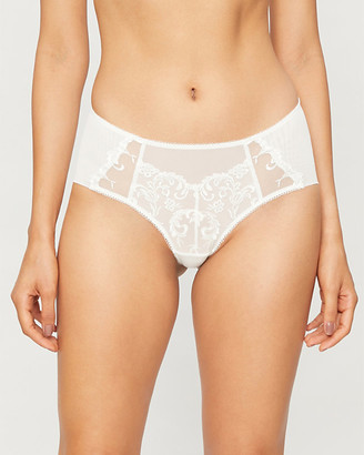 Wacoal Decadence embroidered-mesh briefs