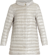 Herno Funnel-neck quilted down coat