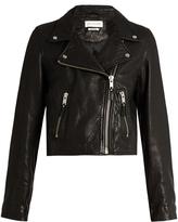 Etoile Isabel Marant Barry cropped leather jacket