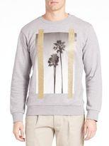 Palm Angels Palms Crewneck Sweatshirt