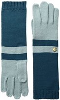 AK Anne Klein Women's Colorblock Long Glove