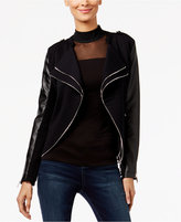 INC International Concepts Knit Moto Jacket, Only at Macy's