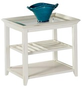 Progressive Sandpiper End Table - Brushed White Furniture