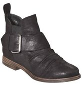 Womens Mossimo Supply Co. Kessi Buckle Ankle Boots - Black