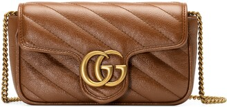 Gucci GG Marmont matelasse super mini bag