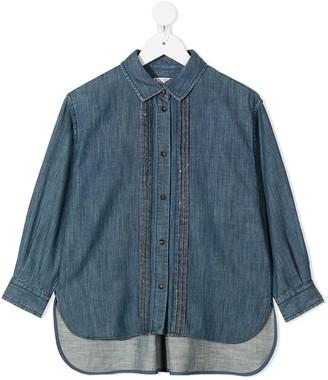 BRUNELLO CUCINELLI KIDS Button-Up Denim Shirt