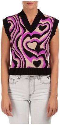 MSGM Sleeveless Knit Vest