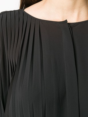 Henrik Vibskov Pleated Slit Detail Dress