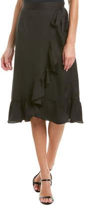ABS by Allen Schwartz Collection Wrap Skirt