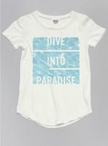 Junk Food Clothing Toddler Girls Dive Into Paradise Tee-sugar-2t