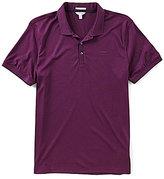 Calvin Klein Liquid Cotton Short-Sleeve Polo Shirt