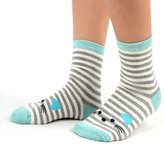 XY Fancy Women Animals Cartoon Cute Cat Cotton Socks Thin Striped Middle Barrel Socks