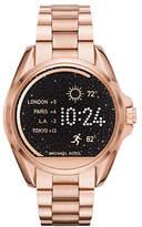Michael Kors MK Access Bradshaw Rose Goldtone Smartwatch
