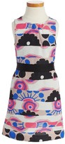 Milly Minis Toddler Girl's Modern Print Fit & Flare Dress