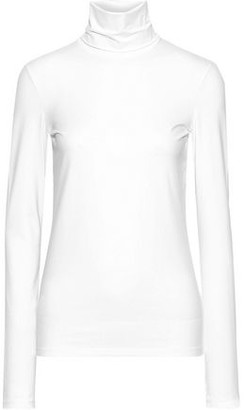 Jil Sander Stretch-cotton Jersey Turtleneck Top