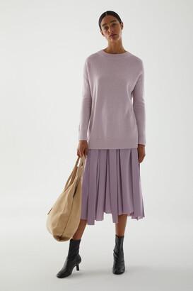 Cos Alpaca Plain Knit Jumper
