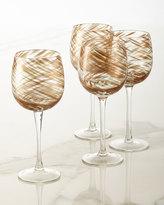 Artland Misty Wine Goblets, Set of 4