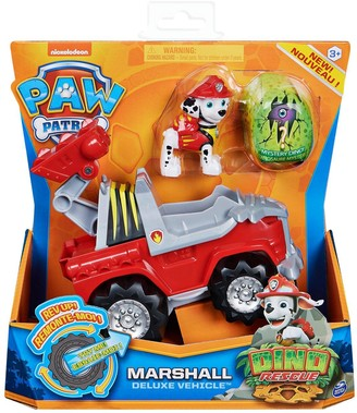 Paw Patrol Dino Rescue Deluxe Vehicles -Marshall