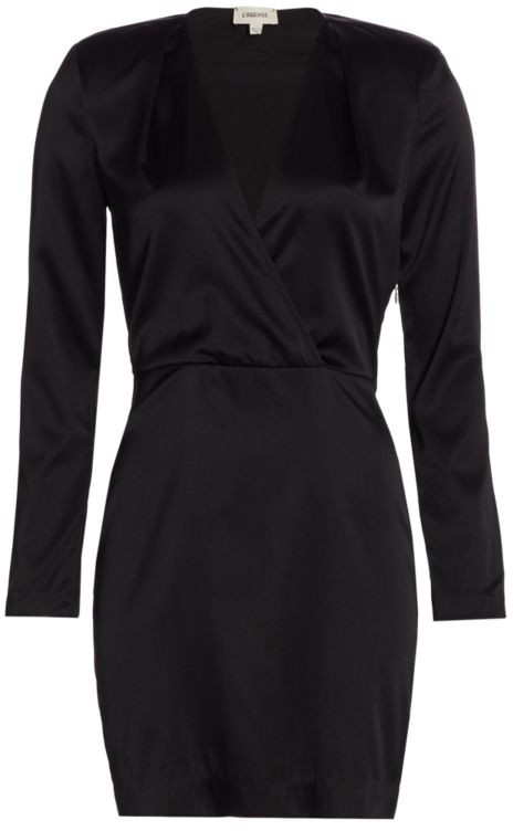L'Agence Kailyn Deep-V Sheath Dress